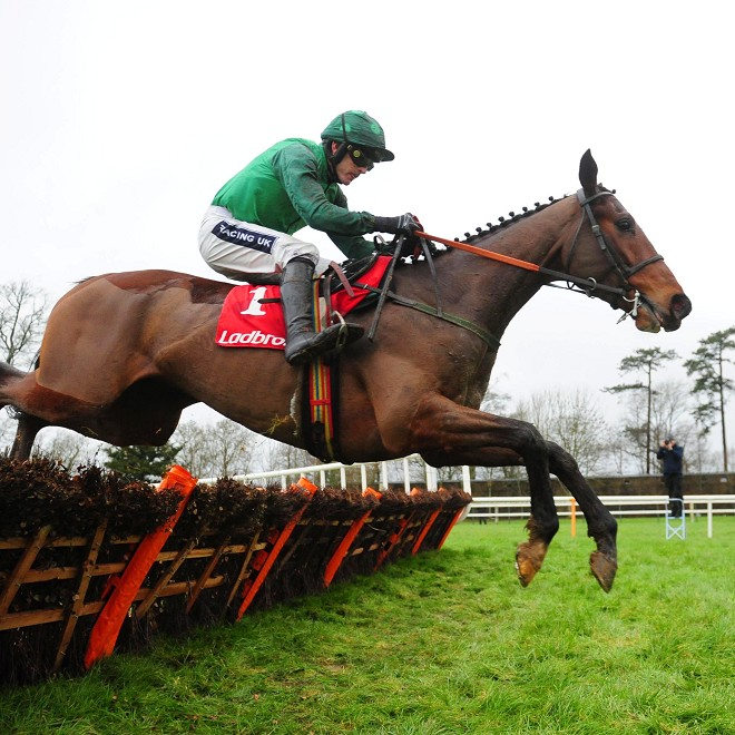 ...and here's my Cheltenham selection Footpad showing how good he is!